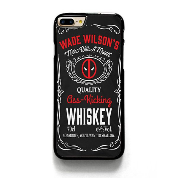 Wade Wilson Whiskey Dead Phone Case For Iphone 5c 5s 6s 6plus 6splus 7 7plus Samsung Galaxy S5 S6 S6ep S7 S7ep