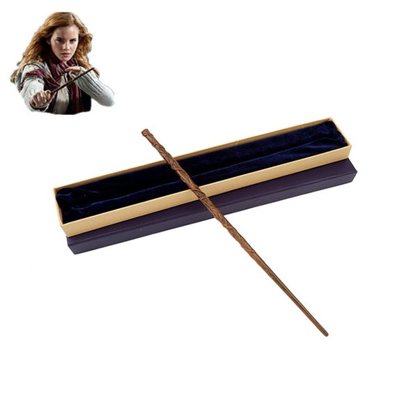 Harry Potter Magical Wand/ Metal Core Hermione Granger Magic Wand/ Colsplay Magical Wand Christmas New Year Gift Toy For Kids