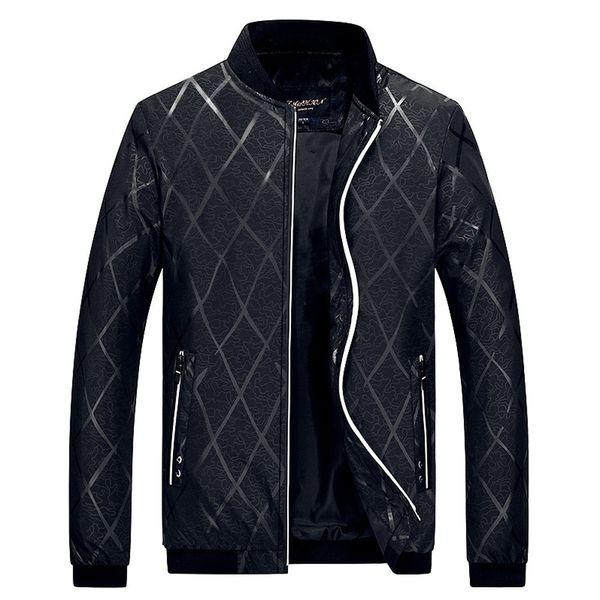 Giacca da uomo Feitong firmata abiti firmati soprabito Stand Zipper Collar Fit Baseball Sportswear Warm Winter Outwear Top Uomo