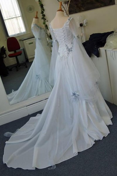 Celtic Wedding Dresses Style