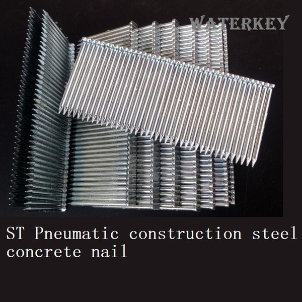 Wholesale ST Pneumatic Construction Steel Concrete nail Hardware ST18 ST25 ST32 ST38 ST45 ST50 High quality carbon steel Free shipping