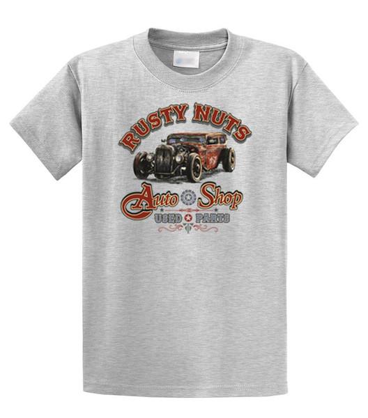 Rusty Nuts Auto Shop Piezas usadas Camiseta clásica