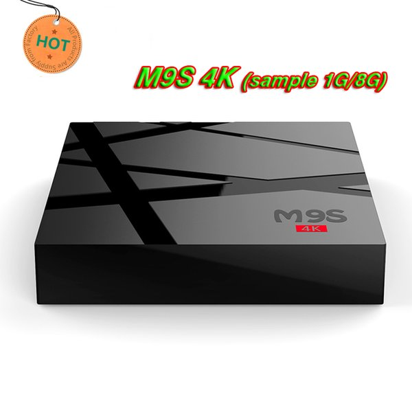 RK3229 M9S 4K android 6.0 tv box HDR H.265 HEVC Private model 1GB 8GB WIFI Internet TV Box Better MXQ PRO 4K