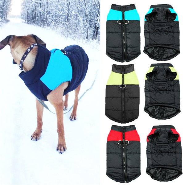 Pet Dog Winter Waterproof Clothes Cappotti Jacket Puppy Warm Soft Clothes Piccoli a Large