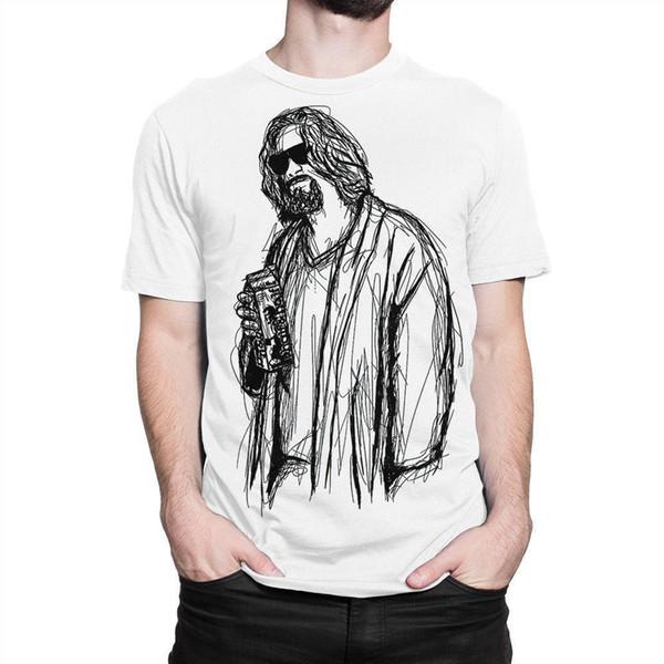 Большой Lebowski Джефф мосты искусство футболки, мужские женские Все размеры S-3XL качество хлопка случайные мужчины футболки мужчины Бесплатная доставка
