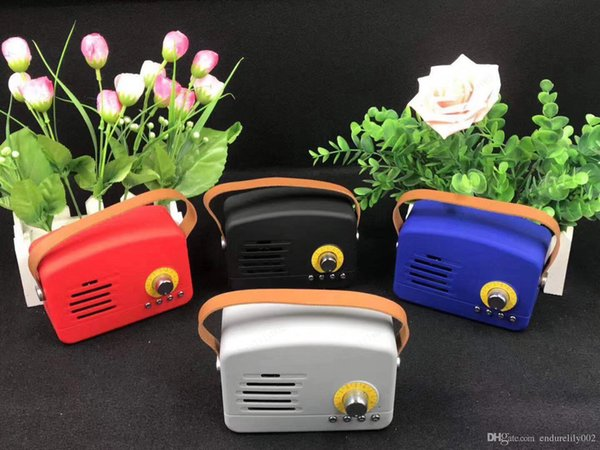 Mini wifi wireless portbable bluetooth speaker support TF card factory direct sell ABS plastic and plating out shell