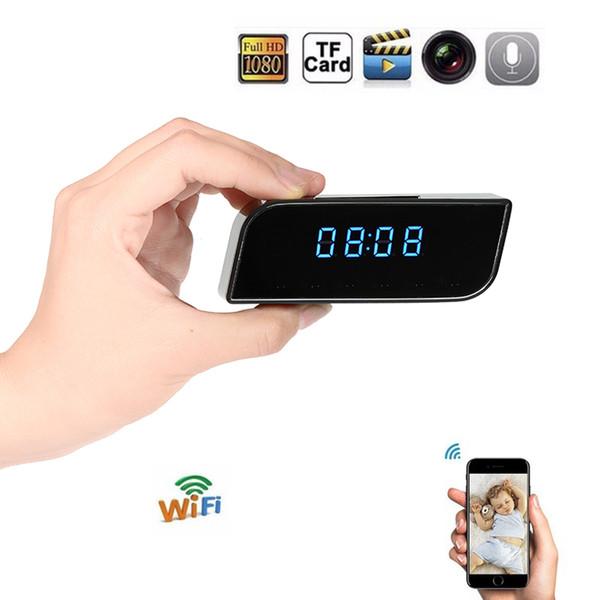 DL20180007 IPC18 HD 1080 P WiFi Mini Kamera Wecker Nacht Version Bewegungssensor Kindermädchen Geheimen Camcorder Video Voice Recorder Micro Cam