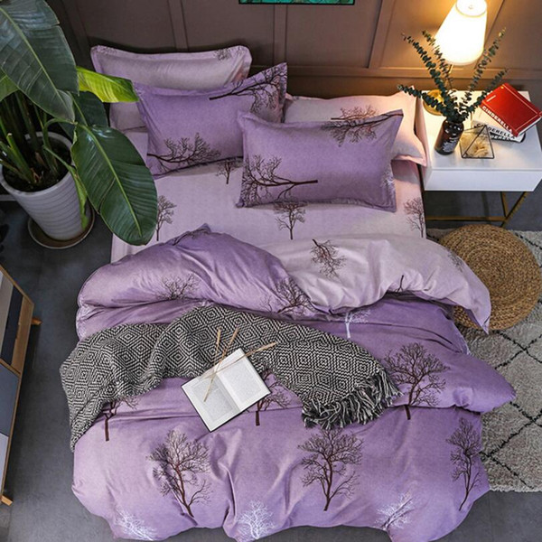 New Flower, fruit fashion 4pcs bedding sets/bed set/bedclothes for kids/bed linen Duvet Cover Bed sheet Pillowcase,twin full queen Wholesale