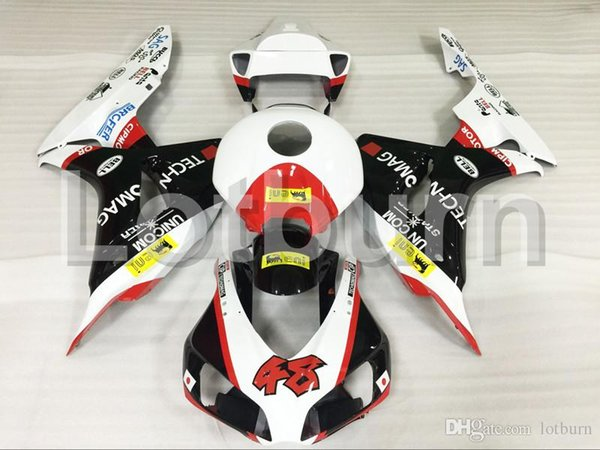Motorcycle Fairing Kit Fit For Honda CBR1000RR CBR1000 CBR 1000 RR 2006 2007 06 07 Fairings kit High Quality ABS Plastic Injection A543