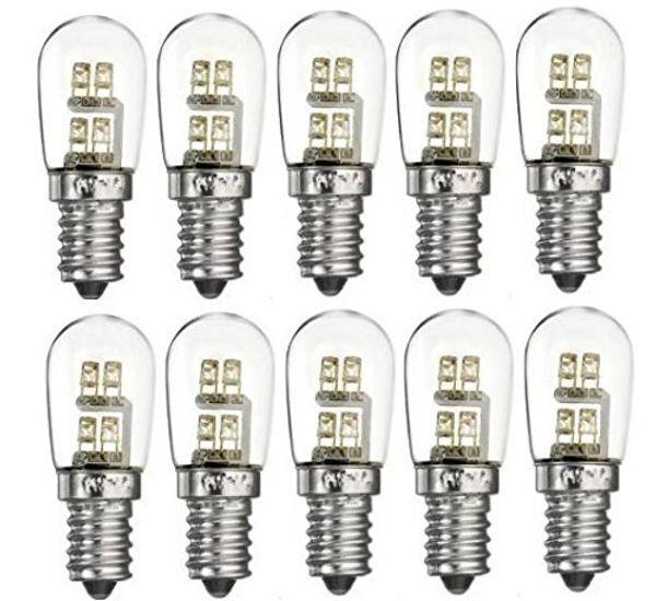 (10-PACK) S6 0.36-Watt LED Night Light bulb, 6-Watt Replacement and E12 Candelabra Base, Warm White 15-20 lumens