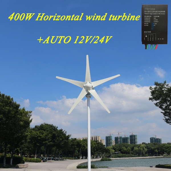 100 Watt To 400 Watt 12v 24v Charge Controller Horizontal Axis Wind Turbine Household Diy Blades Wind Turbines For The Home 1kw Wind Turbine From