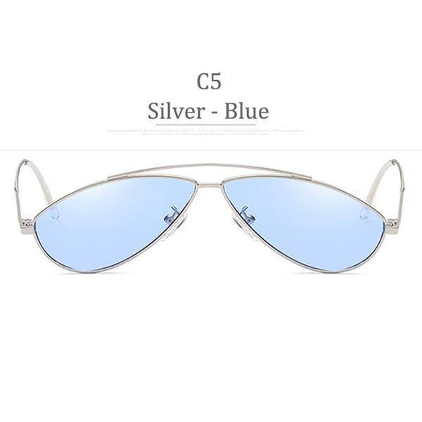 Obiettivo blu C5 Silver Frame