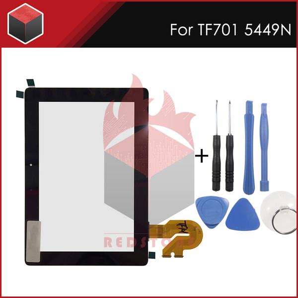 Pannello touch L da 10,1 pollici per ASUS Transformer Pad K00C TF701T TF701 5449N Tablet PC Touch Screen Digitizer Parte con strumenti