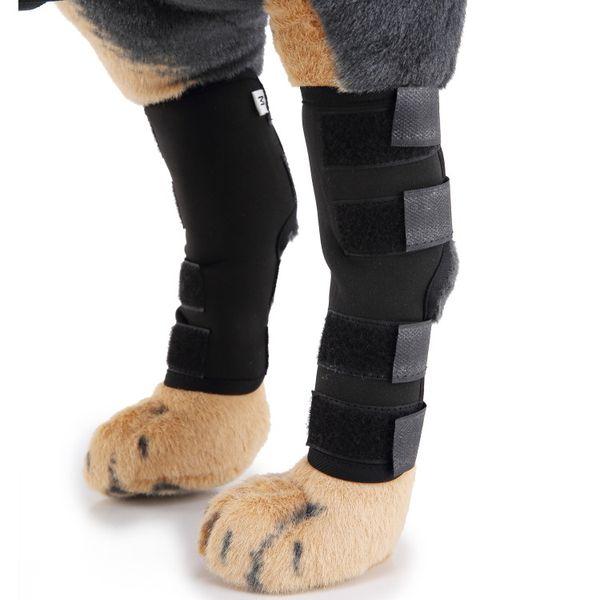 Собака задняя нога брекеты собачьи задние скакательные суставы рукава с Безопасности светоотражающие Ремни для защиты от травм и растяжений