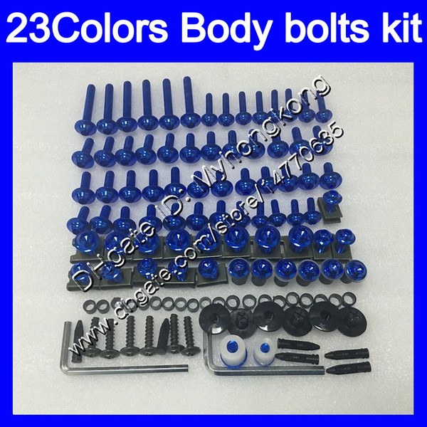 best selling Fairing bolts full screw kit For YAMAHA YZFR1 00 01 02 03 YZF R1 YZF1000 YZF-R1 2000 2001 2002 2003 Body Nuts screws nut bolt kit 25Colors