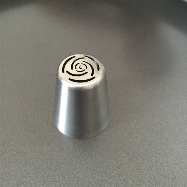 Wholesale- PEIPINGKE 1pc Russian Icing Piping Nozzles DIY Cupcake Cake Decorating Tools Rose Flowers Pastry Tips #70