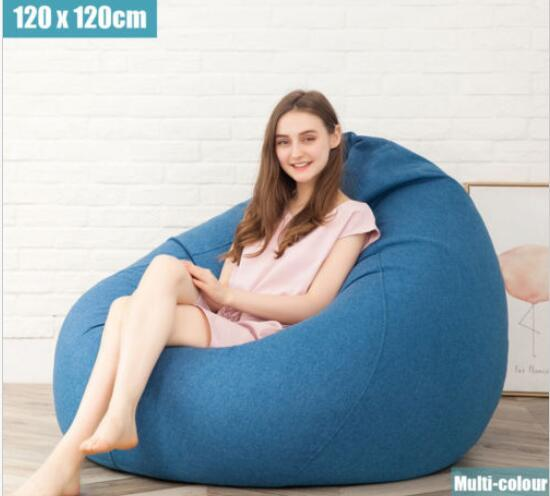 Admirable 2019 Extra Large Bean Bag Chairs For Adults Kids Couch Sofa Cover Indoor Lazy Lounger From Dong1224 280 41 Dhgate Com Inzonedesignstudio Interior Chair Design Inzonedesignstudiocom