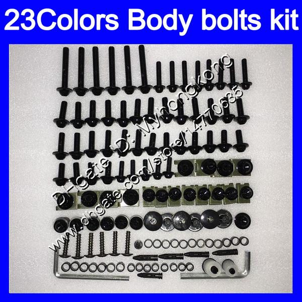 Kit completo de tornillos de carenado Para KAWASAKI NINJA ZX9R 94 95 96 97 ZX-9R 9 R ZX 9R 1994 1995 1996 1997 Tuercas de cuerpo tornillos tuercas kit de tornillos 25Colores