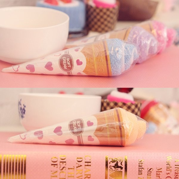 Portable Shaped Cup Of Ice Towel Double Color Soft Gift Towel for Children Kids Random Color