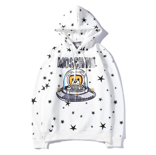 Luxury Designer Hoodies For Women Outerwear Brand Letters Animal Print Fashion Hoodie Long Sleeve Thick Coats Clothing 2 colors M-2XL