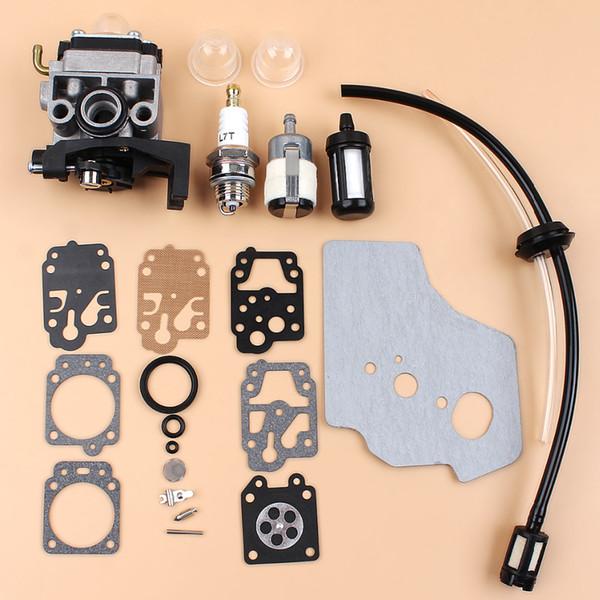 Carburatore Carb Guarnizione Kit Diaphargm Per HONDA GX35 HHT35 HHT35S Motore Trimmers Decespugliatore Pompa acqua Generatore