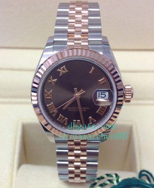 Горячая распродажа высокое качество часы Datejust Леди 26мм, 31мм 36мм 279171 2018 часы автоподзаводом женские женские