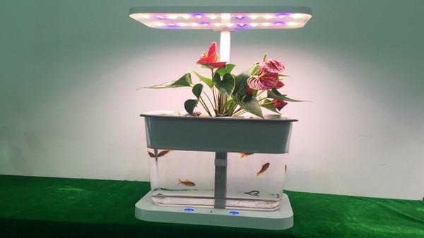 Tabletop Hydroponic Plants Mini Farm Nutrient Film Technique Hydroponics  System NFT Horticulture Lighting Hydroponic LED Panel Grow Light 600 Watt