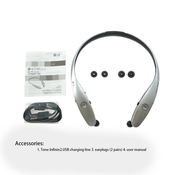 Stereo Bluetooth Kulaklık Kablosuz Spor Gerdanlık HBS 900 Kulaklık Kulaklıklar HBS-900 iPhone 8 HTC Samsung Için Bluetooth Kulaklık Kulaklık