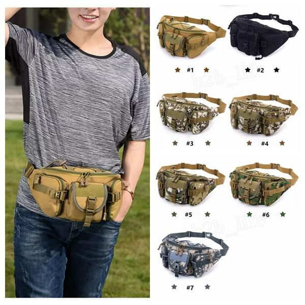 Multi Purpose Poly Tool Holder EDC Pouch Camo Military Bag Nylon Utility Waist