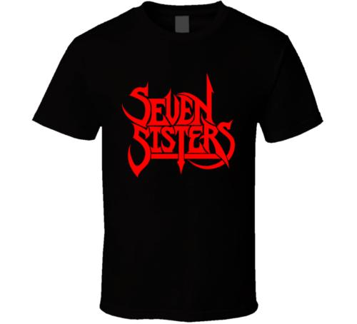 Семь сестер 02 мужчины футболка вязаная удобная ткань уличный стиль мужчины футболка высокое качество хлопок разумные мужчины 100% хлопок