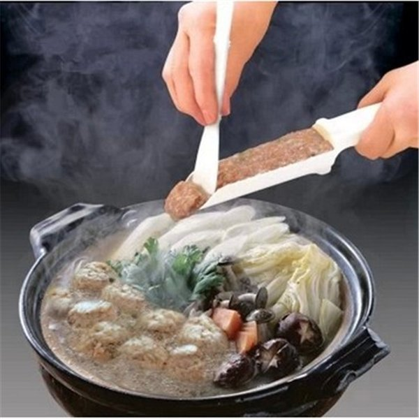 Creative Meatball Maker Pattie Burger Gadgets DIY Convenient Easy To Use Essential Home Kitchen Cooking Tools Hot Sale 1ry Z