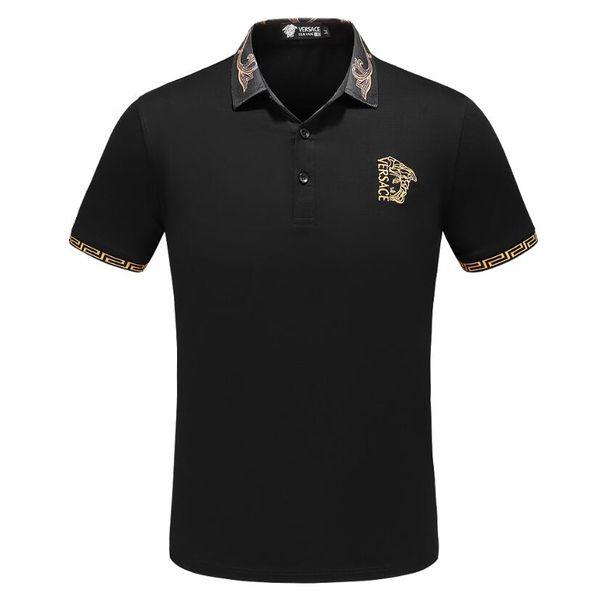 Envío gratis verano de lujo Italia camiseta del diseñador de la camiseta camisas High Street bordado Little Bee impresión ropa para hombre de la marca M-3XL 008