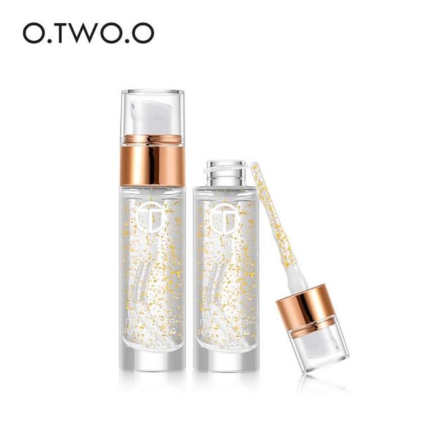 O.TWO.O Primer Face Make Up Base Primer liquide Hydratation du visage Primer Pore Minimiser Maquillage Or 24k Platinum Lotion