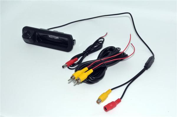 Car Intelligent DynamicTrajectory Tracks Rear View Camera For Ford Focus 2012 Hatchback Sedan Auto Reversing Parking Monitor