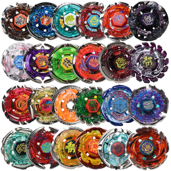 2018 Wholesale Beyblade Metal Fury 24 Different Styles Without Launcher Beyblade Fury Brinquedo Christmas Gift For Kids