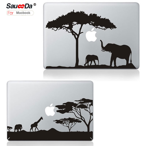 sauceda Laptop Skin Sticker Decal for MacBook pro 13 Cartoon replace protection cover for Macbook Air Pro Retina 13.3 black