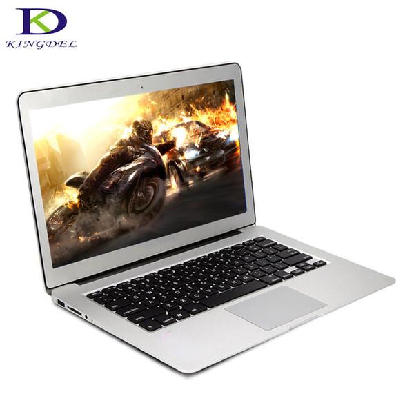Free Shipping 13.3 Inch Laptop Computer with Backlit Keyboard Bluetooth Wifi Screen Windows 10 Ultrabook Dual Core i3 5005U
