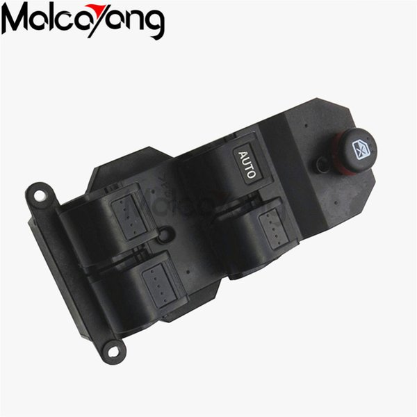 100% Nuevo Hight Quality factory probado Nueva Electric Power Window Master Switch lado del conductor derecho para Honda Fit City