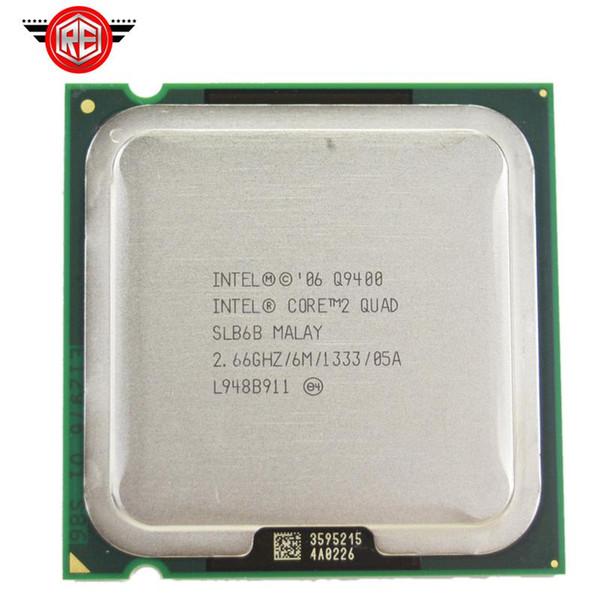 2018 INTEL CORE 2 QUAD Q9400 Processor 2.66GHz 6MB L2 Cache FSB 1333 Desktop LGA 775 CPU