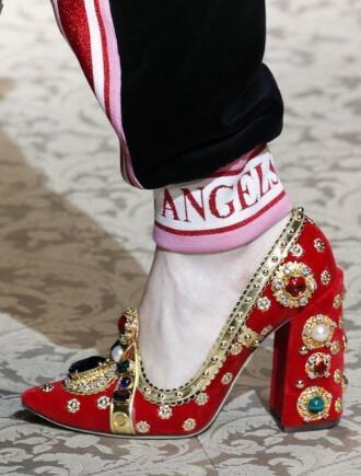 Pist Kırmızı Süet Kadın Moda Ayakkabı Taklidi Tasarım Yüksek Topuk Kristal Glitter Elmas Gladyatör Topuklu Pompalar