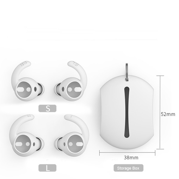 [Ultra-fino] aplicável apple airpods fones de ouvido fones de ouvido fones de ouvido de silicone earplugs set apple wired earphones case capa