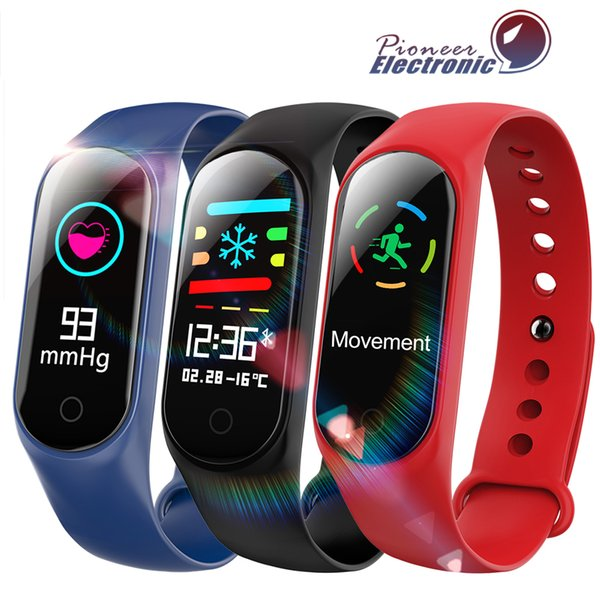 M3 фитнес браслет IP67 водонепроницаемый монитор сердечного ритма артериального давления Smart band часы PK Mi группа браслеты съемный pk Fitbit xiaomi