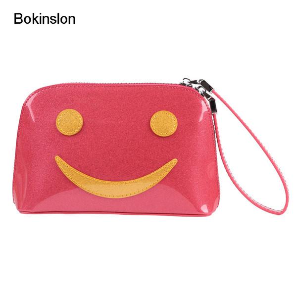 Bokinslon Woman Bags Handbags Patent Leather Multifunction Women Small Shell Bags Fashion Small Fresh Handbags Female