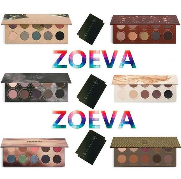 Z.O.EVA Paleta de sombras de ojos Metales mixtos / Mezcla de cacao / Rosa dorada / NATURALMENTE SUYA / RODEO BELLE / SMOKY Sombra de ojos Nake