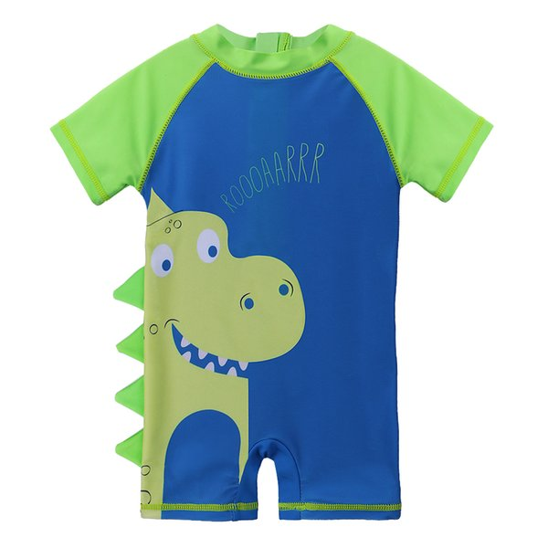 c6e0b95a77 BAOHULU Cartoon Baby Swimsuit Boy Rash Guards UPF50+ Swimwear Toddler One Piece  Infant Sun Protection Bathing