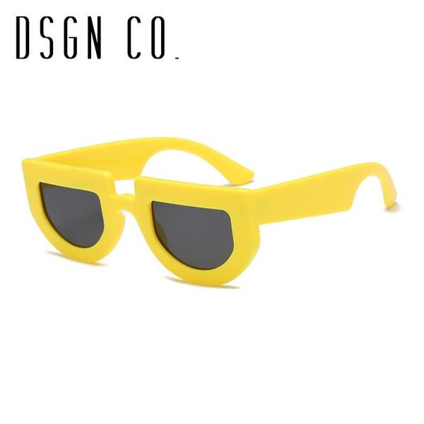 Cadre jaune Black Lens