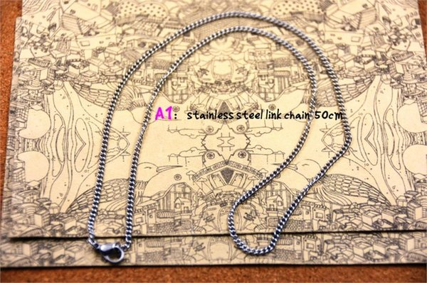 Metal Color:SS necklace