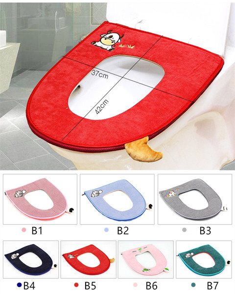 Magnificent 2019 Comfortable Toilet Seat Soft Cloth Washable Lid Top Cover Pad Bathroom Warmer Winter Toilet Seat Cover From Yashang07 5 28 Dhgate Com Machost Co Dining Chair Design Ideas Machostcouk