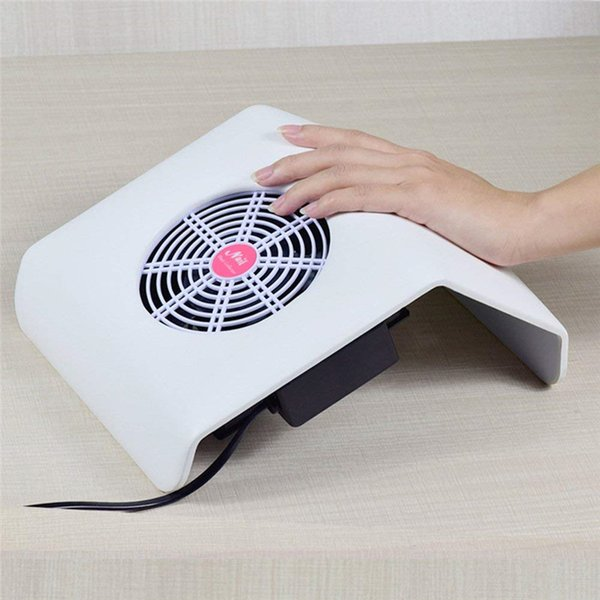Powerful Nail Dust Suction Collector with 3 Fan Vacuum Cleaner Manicure Tools with 2 Dust Collecting Bags Nail art salon,