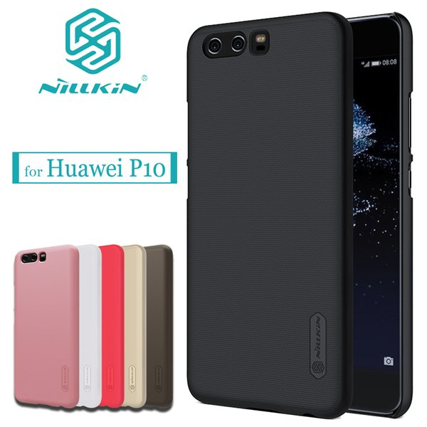 NILKIN for Huawei P10 Case Nillkin Frosted Shield Business Hard PC Plastic Back Phone Protective Cover For Huawei Ascend P10